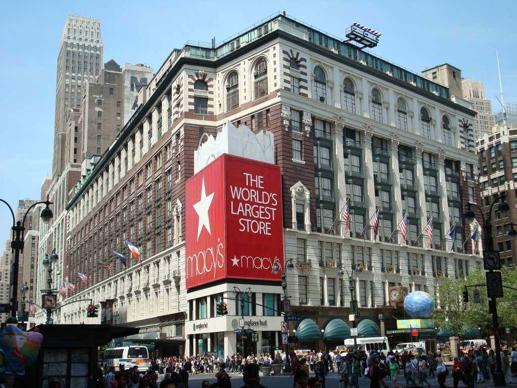 Macy's le plus grand magasin du monde à New York