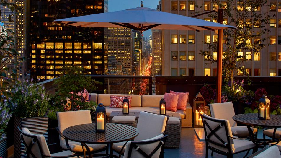 Salon De Ning At Peninsula Hotel Rooftop Sur La 5 232 Me Avenue