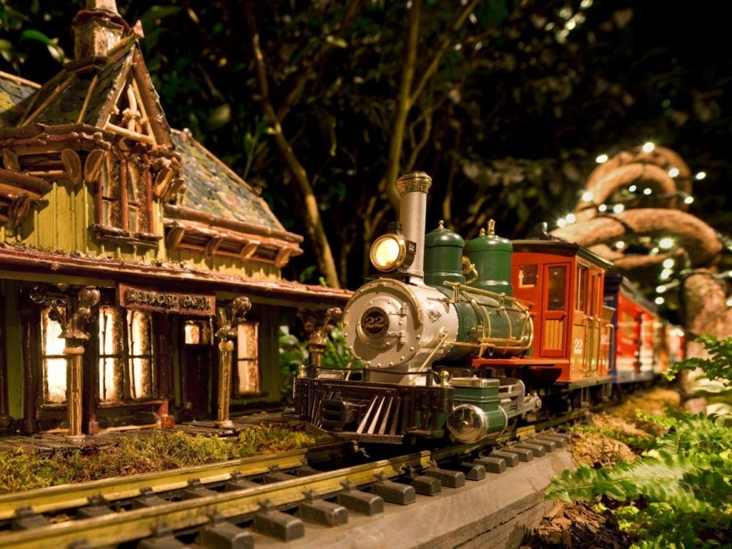 L'exposition Holiday Train Show pendant les fêtes de fin d'année à NewYork