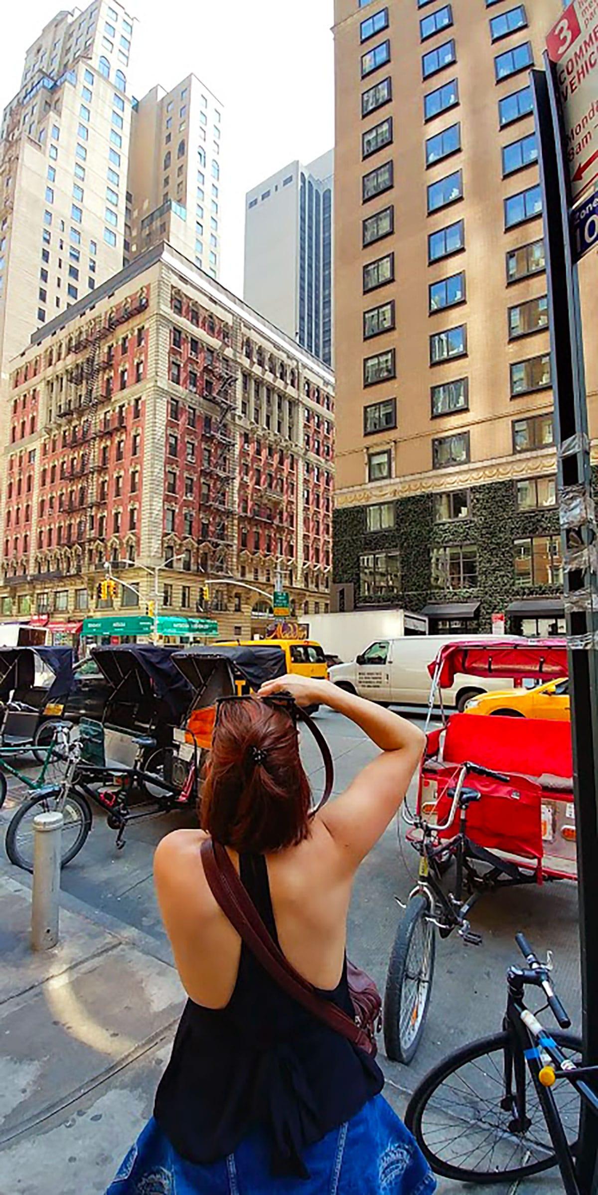 Carnet de voyage Mataime pour Partir a New York