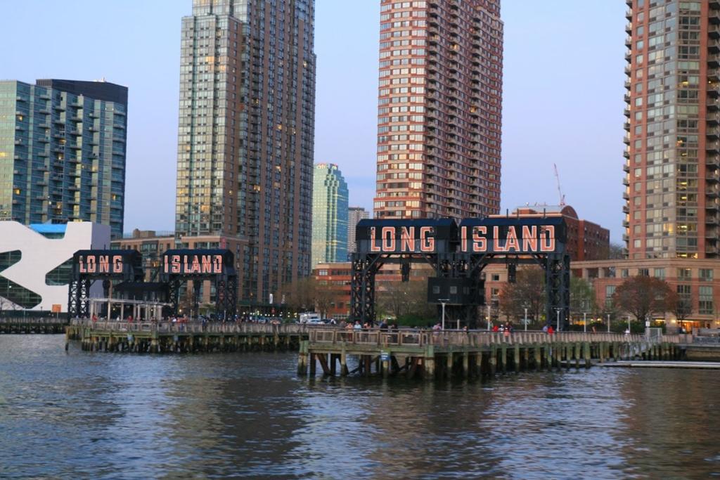 Quai de croisière en bateau à Long Island