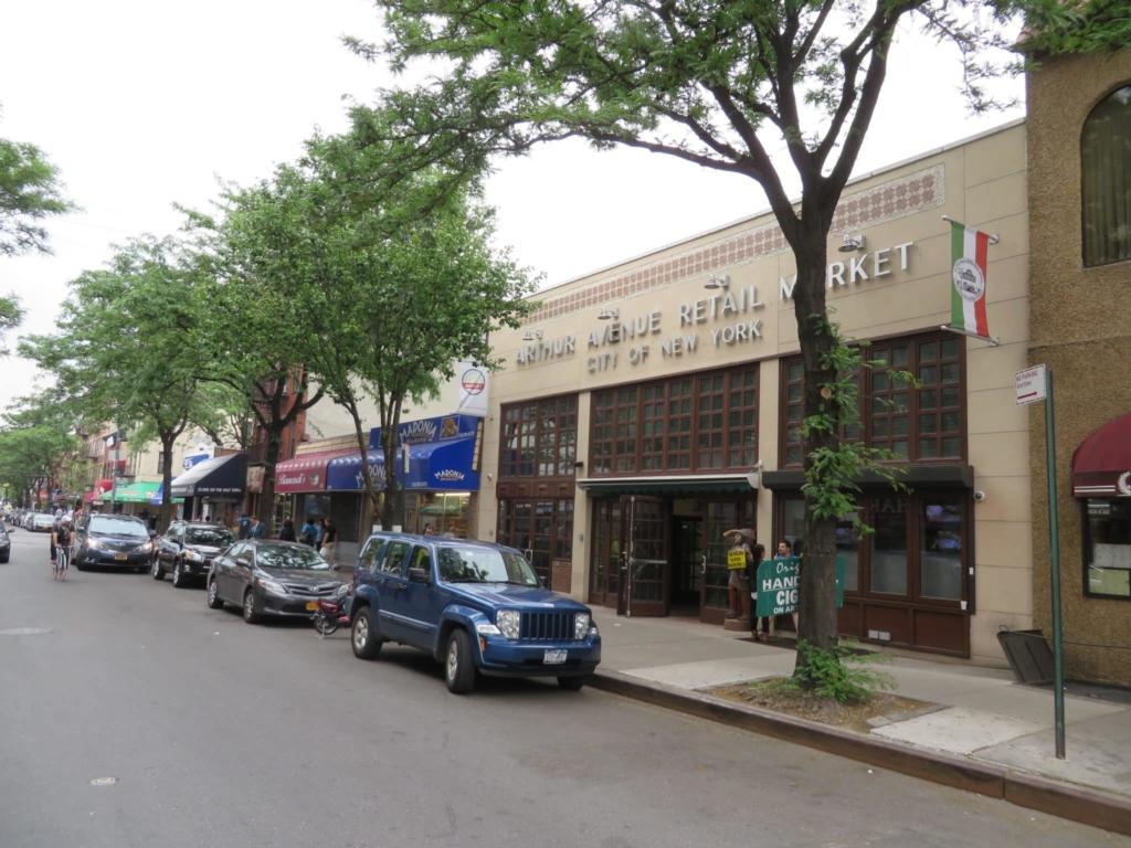 Arthur Avenue Retail Market : le marché italien de New York