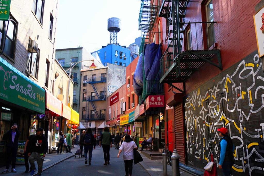 Doyer Street à Chinatown à New York