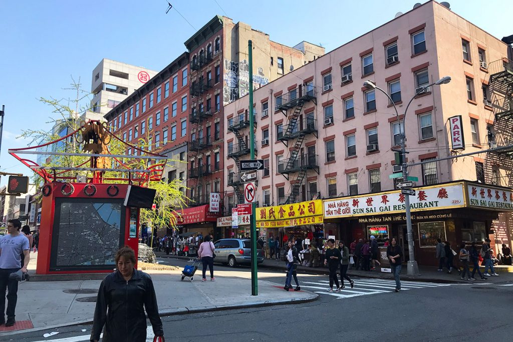 Chinatown New York, Canal Street