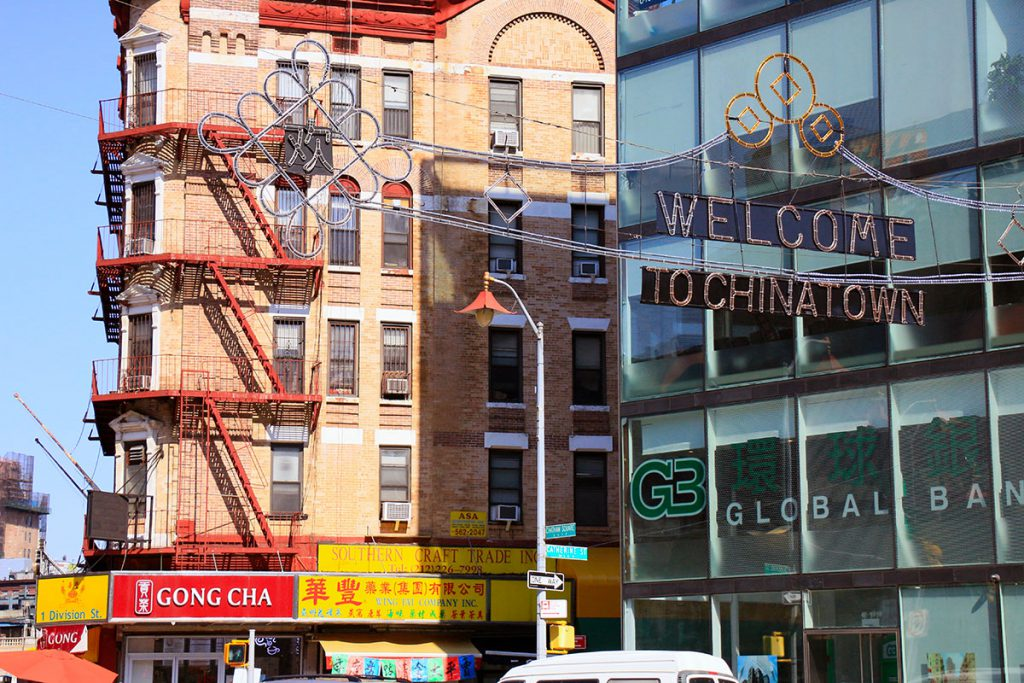Welcome du Chinatown New York