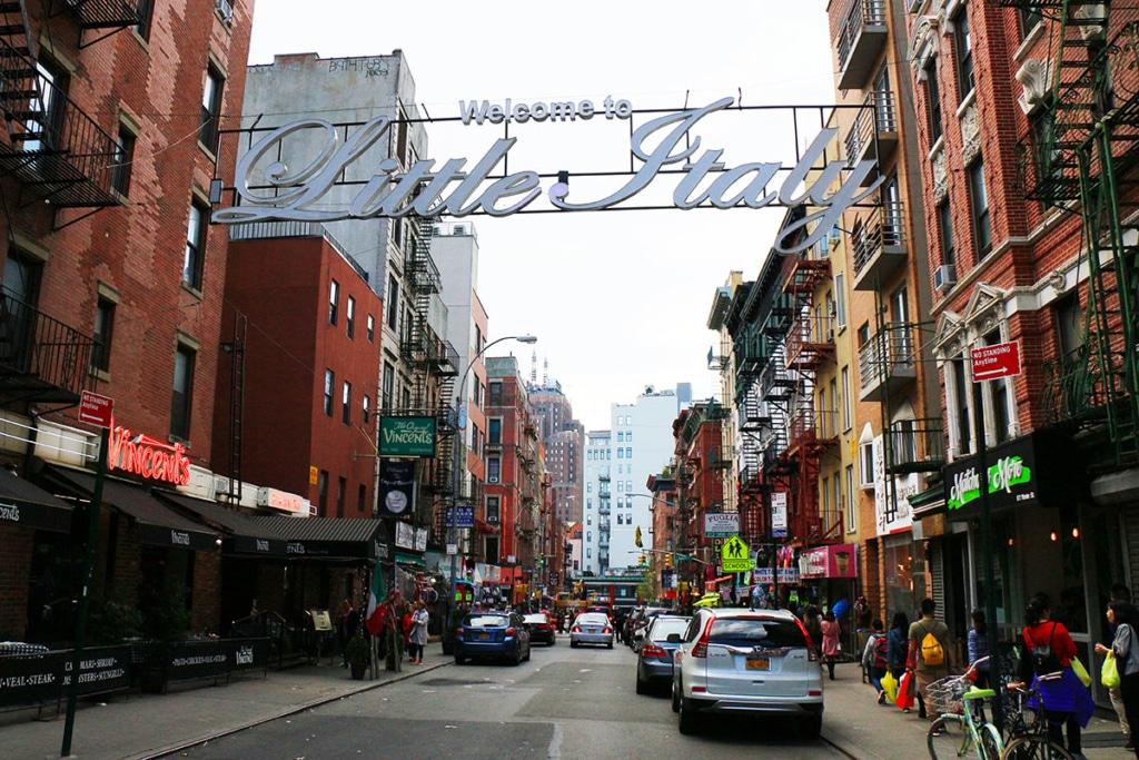 Little Italy le quartier italien de New York