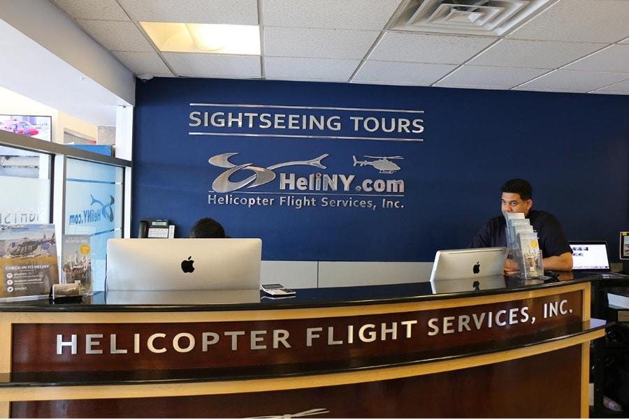 Compagnie d'hélicoptère à New York