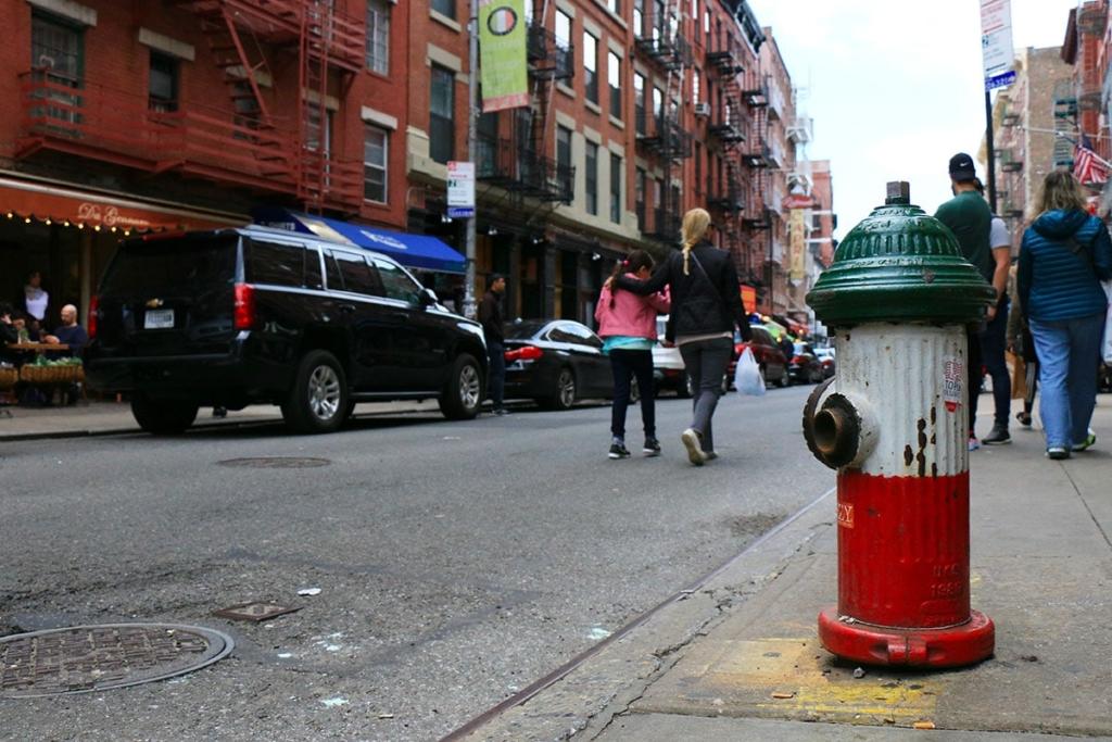 Borne à incendie dans Little Italy | New York