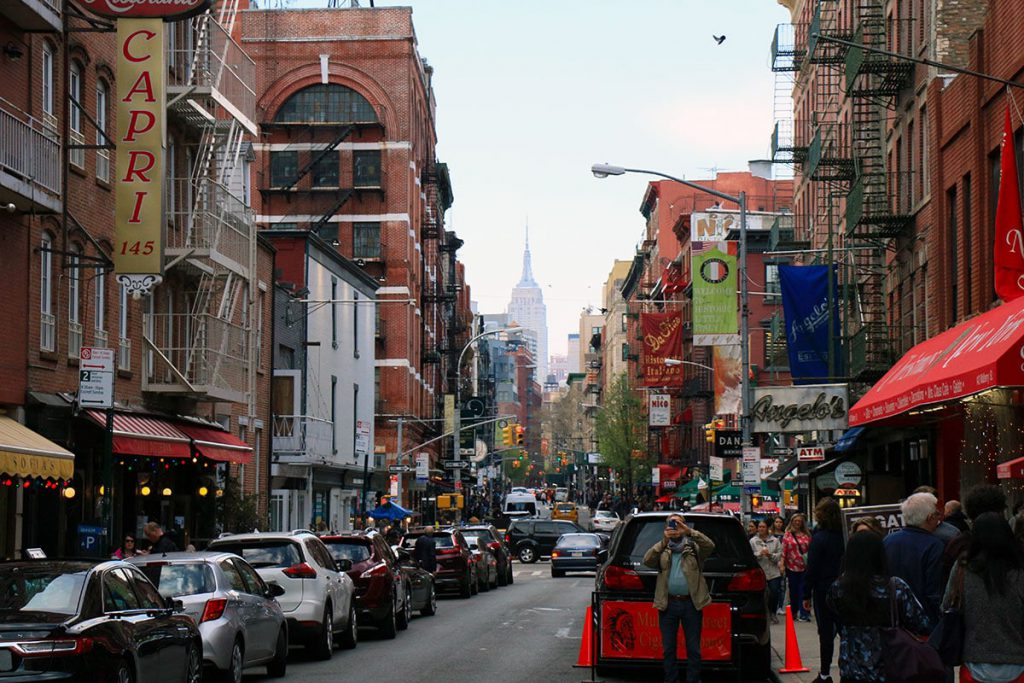 Rue de Little Italy | New York