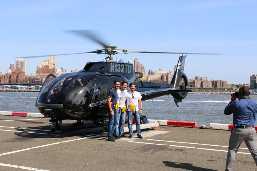 Vol en hélicoptère à New York