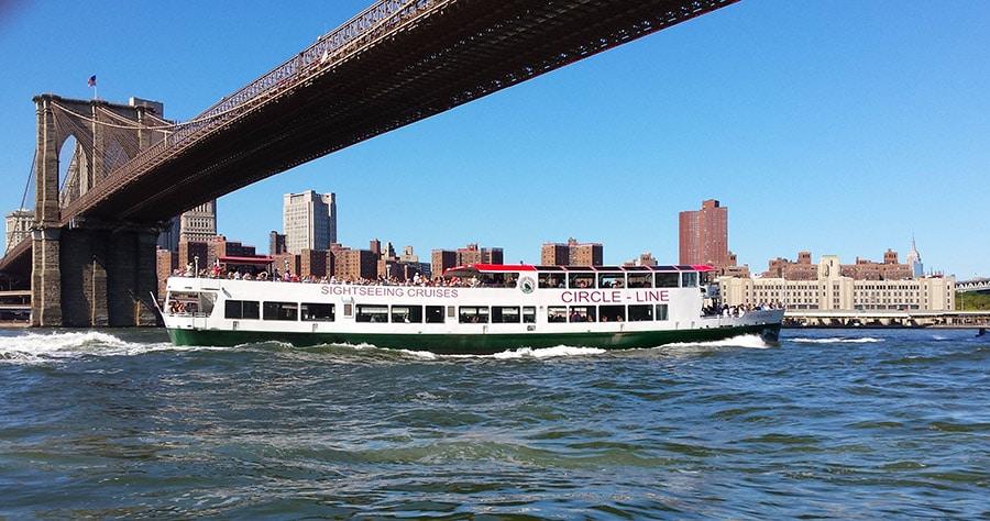 Croisière en bateau autour de New York