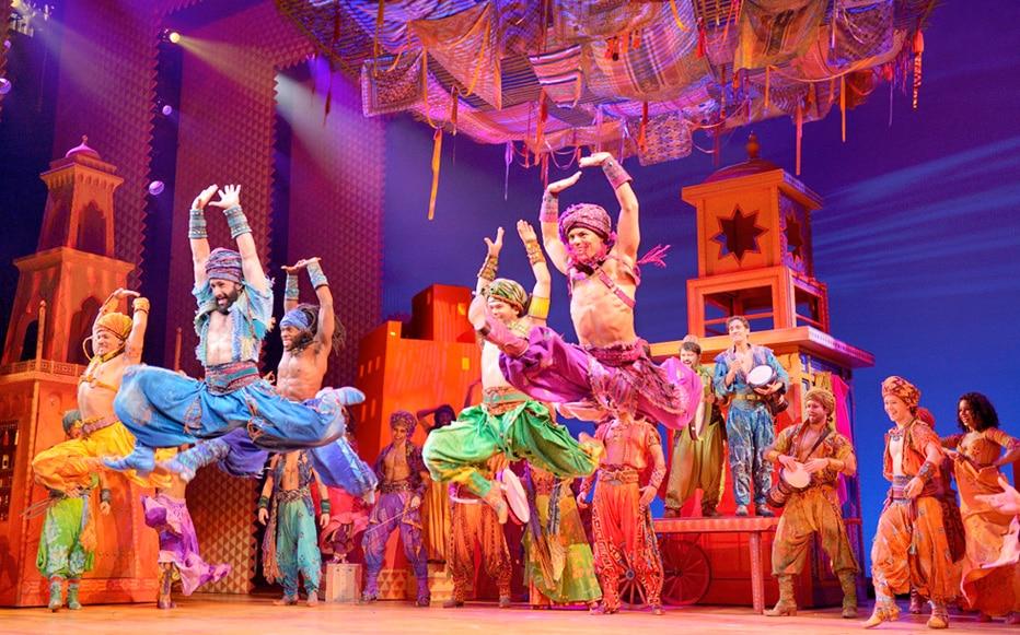 Comédie Musicale Aladdin à Broadway