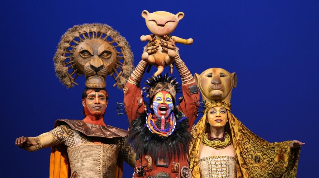 Présentation de Simba - comédie musicale Le Roi Lion