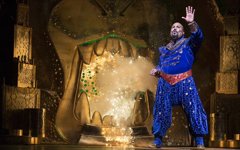 Spectacle Aladdin à New York : le Génie
