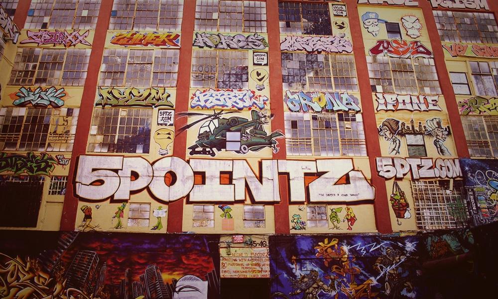 5 Pointz, ancien lieu de street art à New York