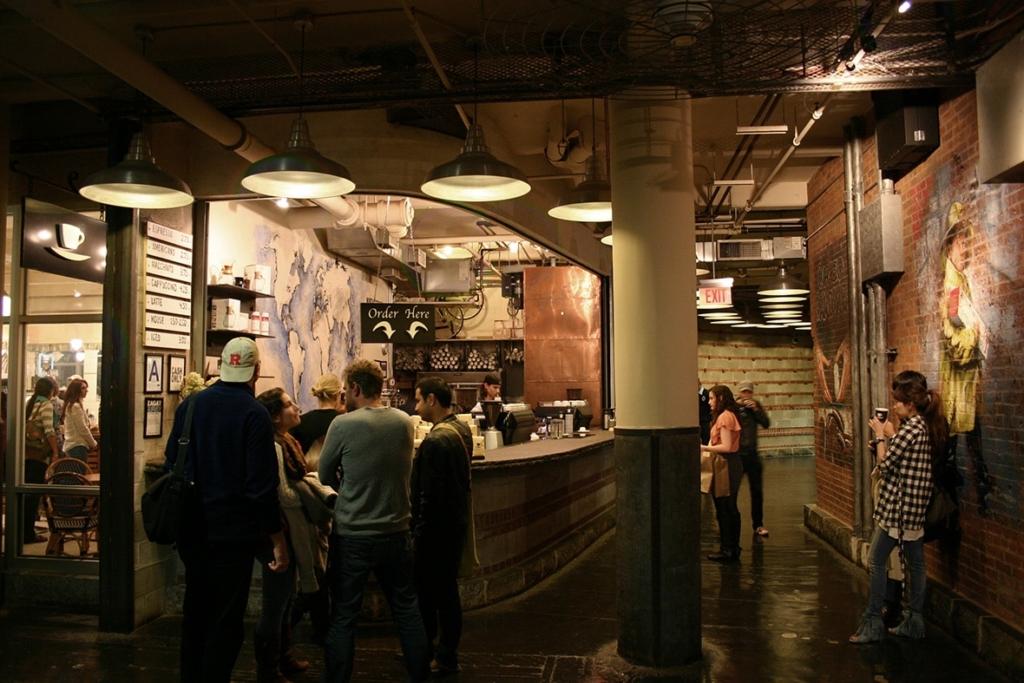 Intérieur du Chelsea Market à New York