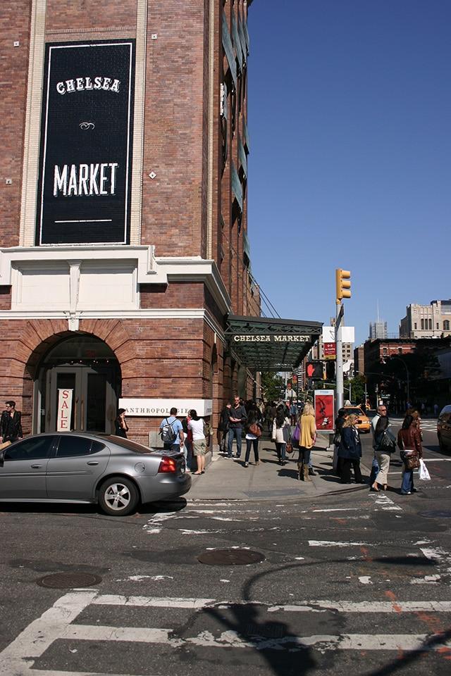 Devanture du Chelsea Market à New York