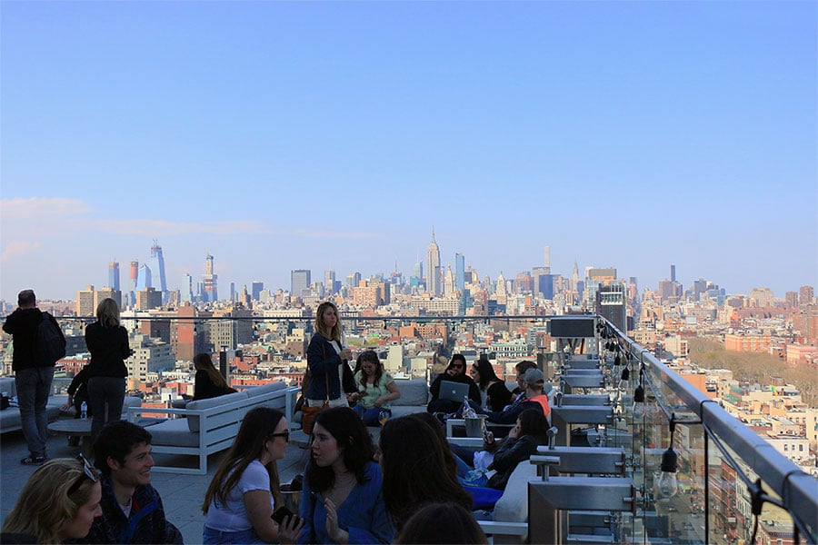 The Crown  | Rooftop à Chinatown New York