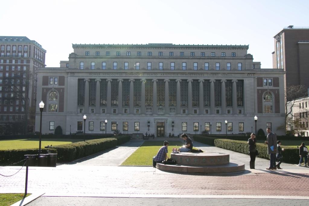 les magnifiques bâtiments de Colombia Univeristy