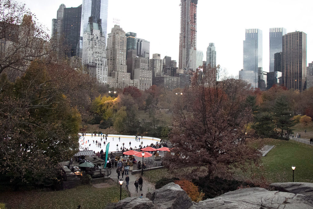 Patinoire de Central Park | Wollman Rink New York