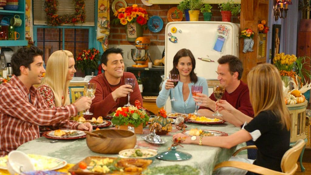 Thanksgiving dans la série Friends
