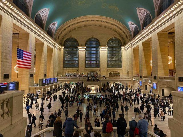 Intérieur de Grand Central Terminal, gare de New York