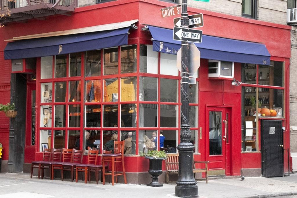 Immeuble de Monica de la série Friends à Greenwich Village, New York