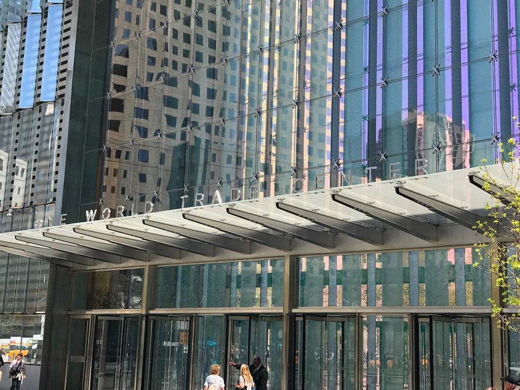 Entrée du One World Trade Center
