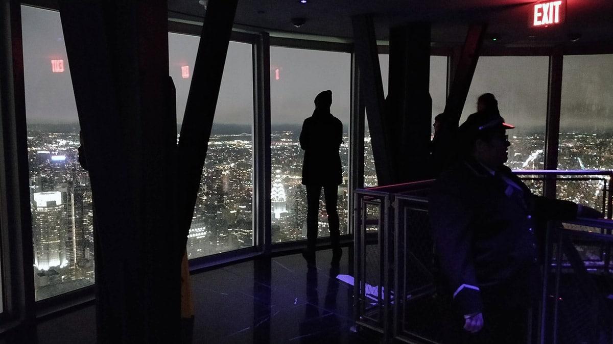 Observatoire du 102e étage à l'Empire State Building