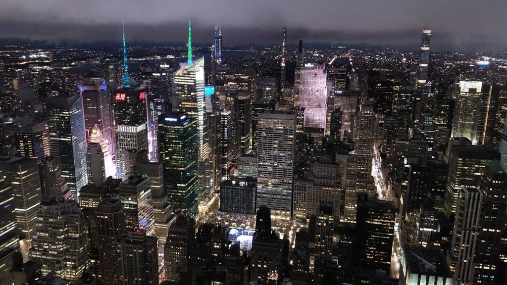 Empire State Building de nuit - 86è étage