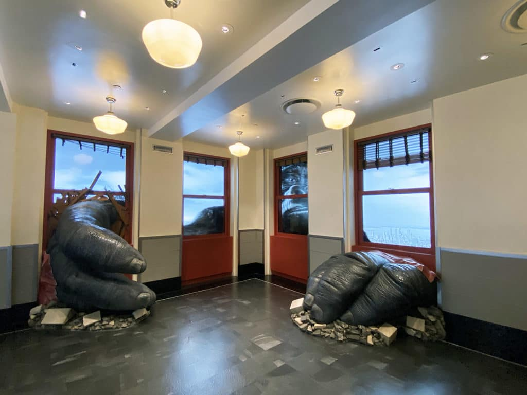 Exposition King Kong au musée de l'Empire State Buidling