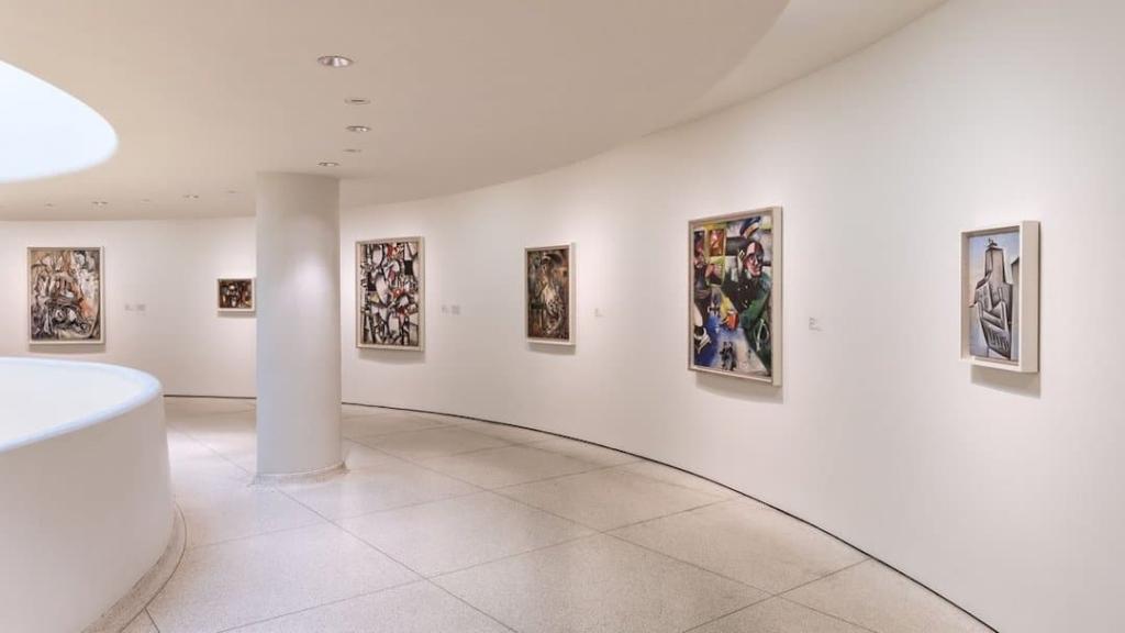 Oeuvres exposées au Musée Guggenheim à New York