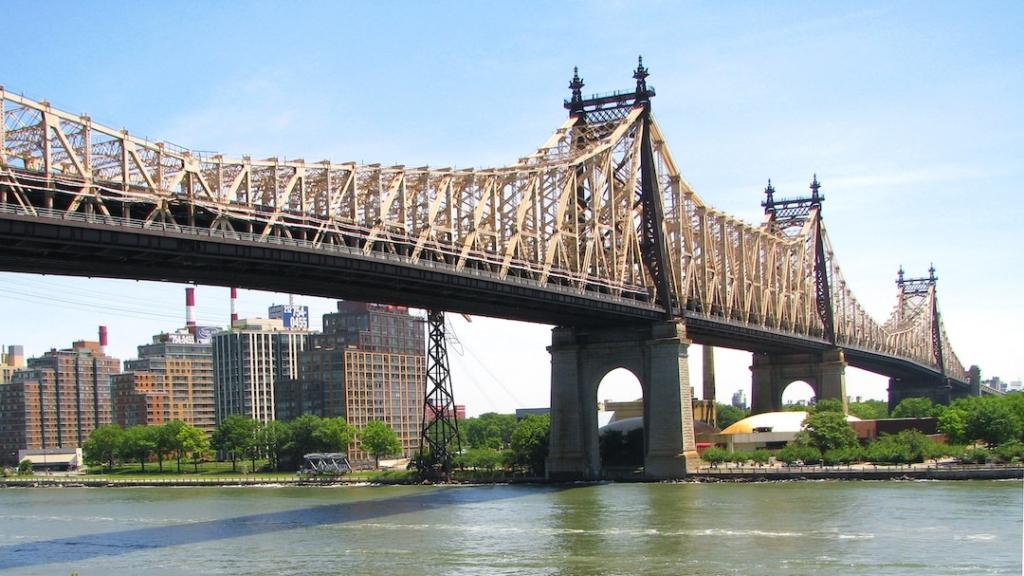 Queensboro Bridge qui relie Manhattan au Queens à New York